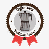 Coffee shop and drink Royalty Free Stock Photo
