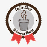 Coffee shop and drink Royalty Free Stock Photos