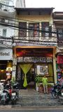 Coffee shop in Hanoi Old Quarter stock photo