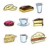 Coffee Shop Icons - Illustration vector illustration