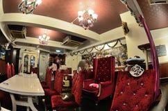 Coffee shop interior design Stock Image