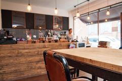 Coffee shop interior Stock Photography