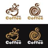 Coffee shop logo - abstract coffee cup vector design Stock Image
