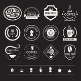 Coffee Shop Logo Collection Royalty Free Stock Images
