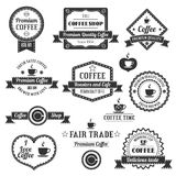 Coffee Shop Logo Royalty Free Stock Photo