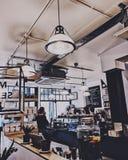Coffee shop in London stock photo
