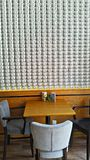 Coffee Shop. Real Coffee cup wallpaper Royalty Free Stock Photography