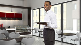 Coffee Shop Server Royalty Free Stock Photo