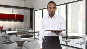 Coffee Shop Server Royalty Free Stock Images