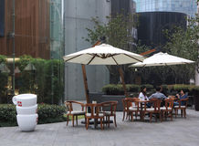 Coffee Shop,Shanghai ,China Royalty Free Stock Photos