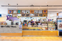 Coffee shop in Suria KLCC, Kuala Lumpur Royalty Free Stock Photos