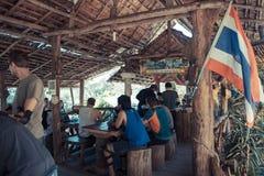 coffee shop Thailand royaltyfri foto
