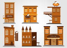 Coffee Shop vector Stock Image