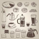 Coffee shop vintage design element Royalty Free Stock Image