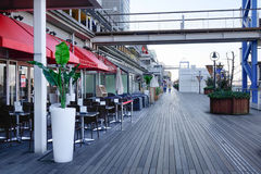 Coffee shops at Odaiba Seaside Park Stock Images