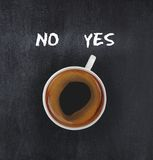 Coffee showing solution Stock Images