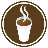 Coffee  sign Stock Photos