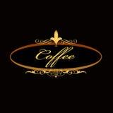 Coffee sign board Stock Photo