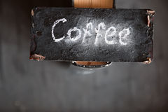 Coffee sign Stock Photo
