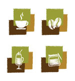 Coffee signs Royalty Free Stock Image