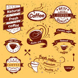Coffee signs set Royalty Free Stock Images