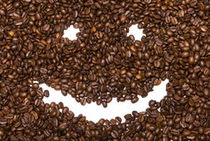 Coffee smile Royalty Free Stock Photography