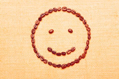 Coffee Smiley Stock Images