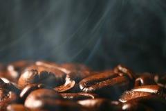 Coffee in smoke Stock Photos