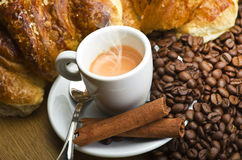 Coffee smoking Royalty Free Stock Photography