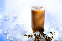 Coffee smoothie Royalty Free Stock Photo
