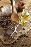 Coffee soap Royalty Free Stock Photography
