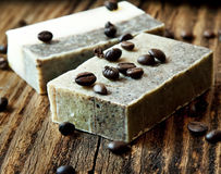 Coffee Soap Royalty Free Stock Image