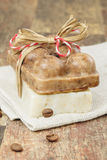 Coffee soap Stock Image