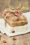 Coffee soap Stock Image
