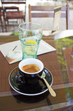Coffee and Soft Drink Royalty Free Stock Photo