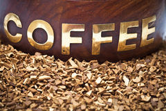 Coffee soluble coffee Royalty Free Stock Image
