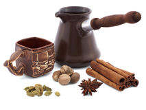 Coffee spiced Royalty Free Stock Images