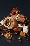 Coffee and spices. Stock Image