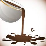 Coffee splash  design Royalty Free Stock Photos