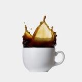 Coffee splash Royalty Free Stock Photo