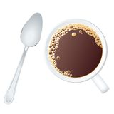 Coffee spoon Stock Photos