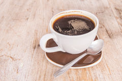 Coffee spoon cups Royalty Free Stock Photos