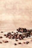 Coffee spoon Stock Photography