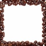 Coffee square frame Stock Photo