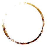 Coffee stain Royalty Free Stock Photos