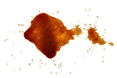 Coffee stain fleck drink beverage Royalty Free Stock Photo