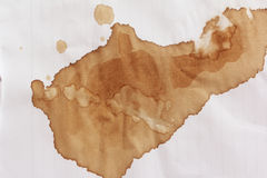 Coffee stain Royalty Free Stock Photo