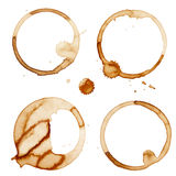 Coffee Stain Rings Vector Royalty Free Stock Photo