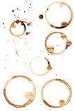 Coffee Stain Rings Vector Stock Photos