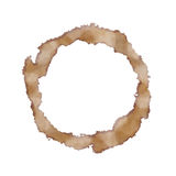 Coffee stain Royalty Free Stock Image